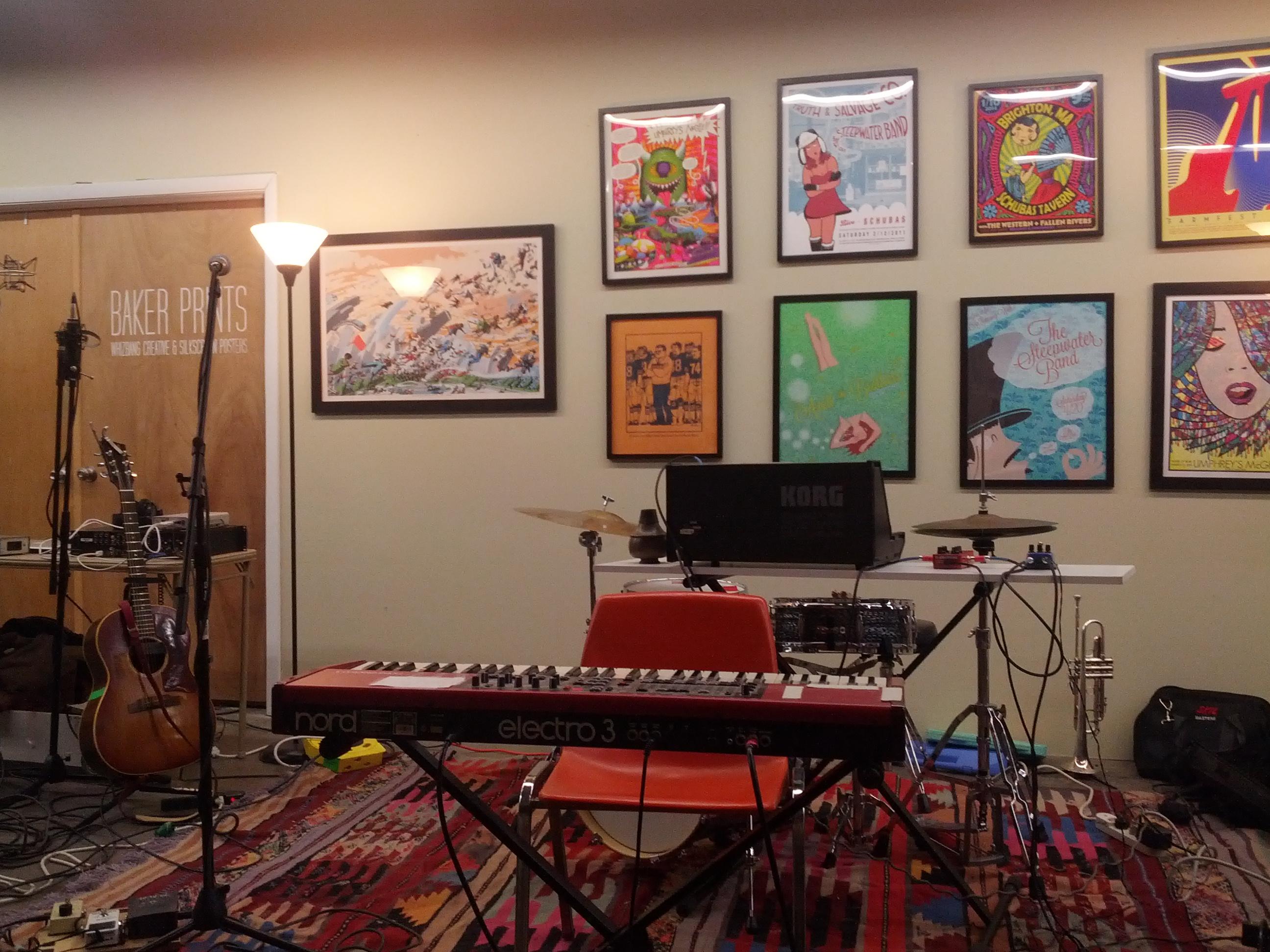 The loft pre-show